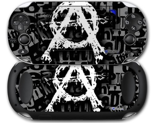 Sony PS Vita Decal style Skin - Anarchy (OEM Packaging)