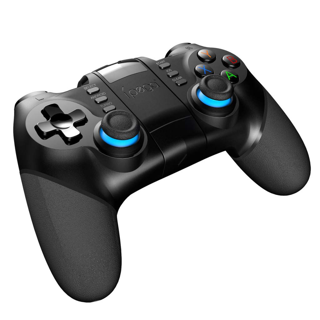 Tacameng Bluetooth Gamepad Game Controller Joypad Direct PlayPUBG /Android Universal,Feel More Comfortable, Product Structure is Ergonomic