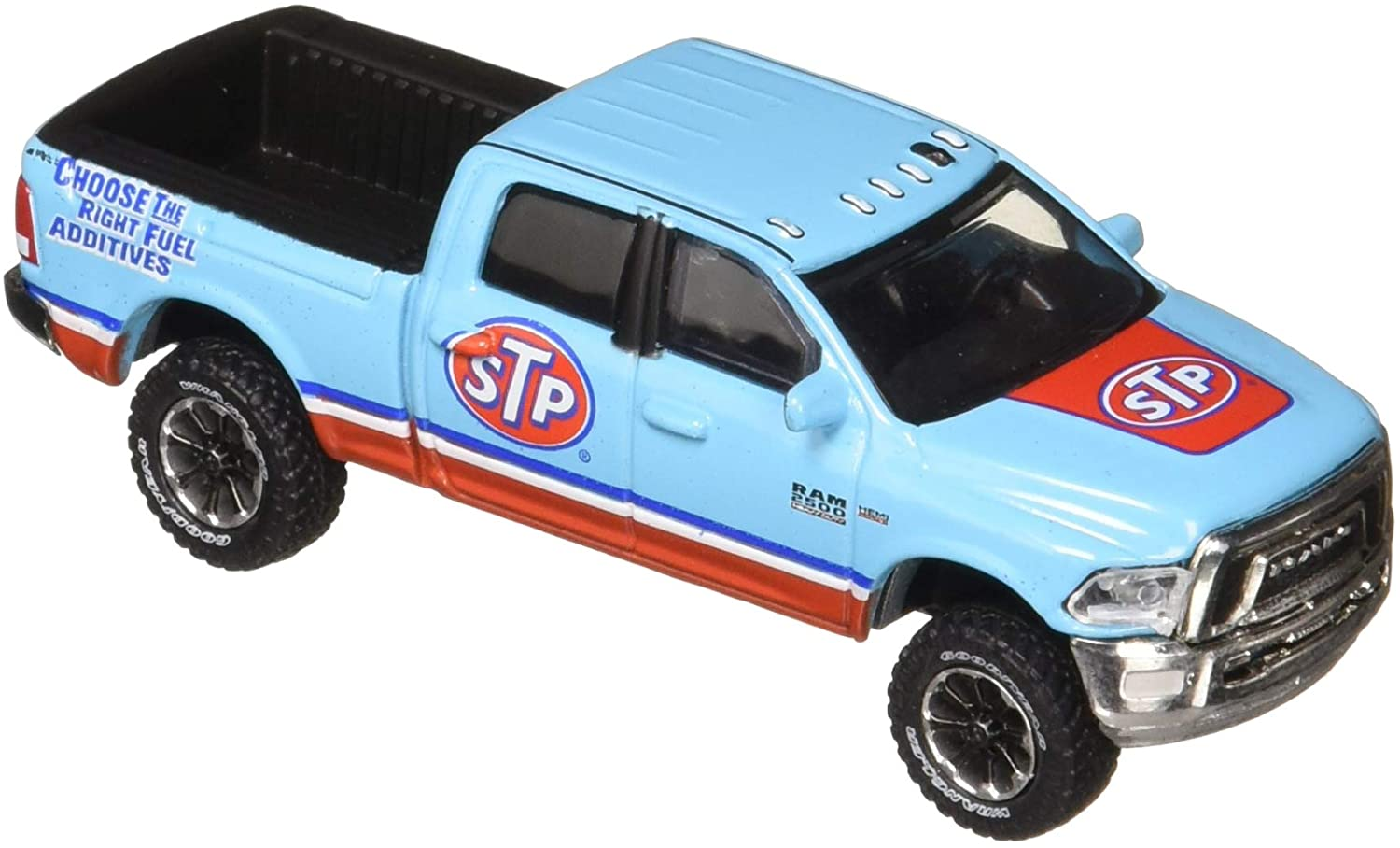 Greenlight 1: 64 Running On Empty Series 4 - 2017 Ram 2500 Power Wagon - STP Air Filter Diecast Vehicle