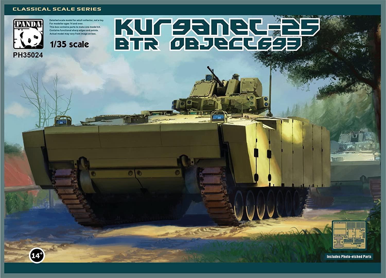 PANDA HOBBY PH35024 1/35 BTR Object693 Kurganet-25 [Model Building Kit]
