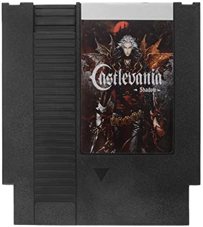 Castlevania - Shadows 72 Pin 8 Bit Game Card Cartridge for NES Nintendo