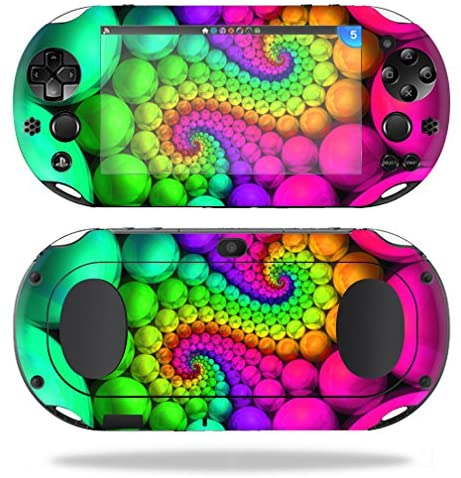MightySkins Protective Vinyl Skin Decal for Sony PS Vita (Wi-Fi 2nd Gen) wrap Cover Sticker Skins Hallucinate