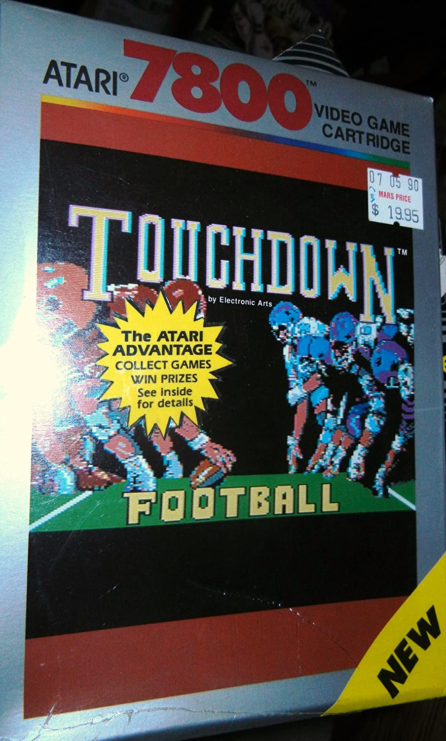 Atari 7800 - Touchdown Football - Made By Electronic Arts