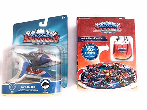 Skylanders Superchargers Character and Play and Store Mat