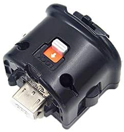 Black Motion Plus Adapter Sensor for Nintendo Wii Remote Controller (Used)