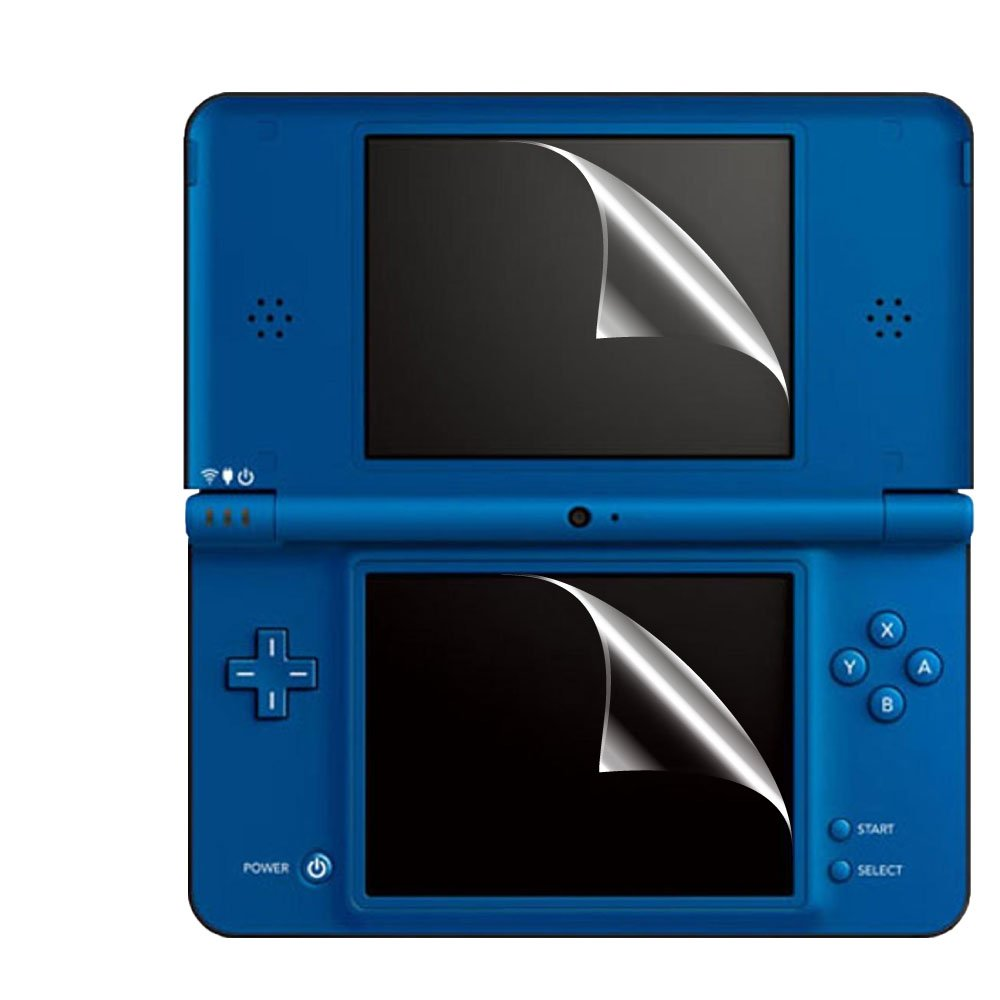 C.Skins 3 -Pack Premium Clear Screen Protector for Nintendo DSI XL Invisible LCD Guard Cover