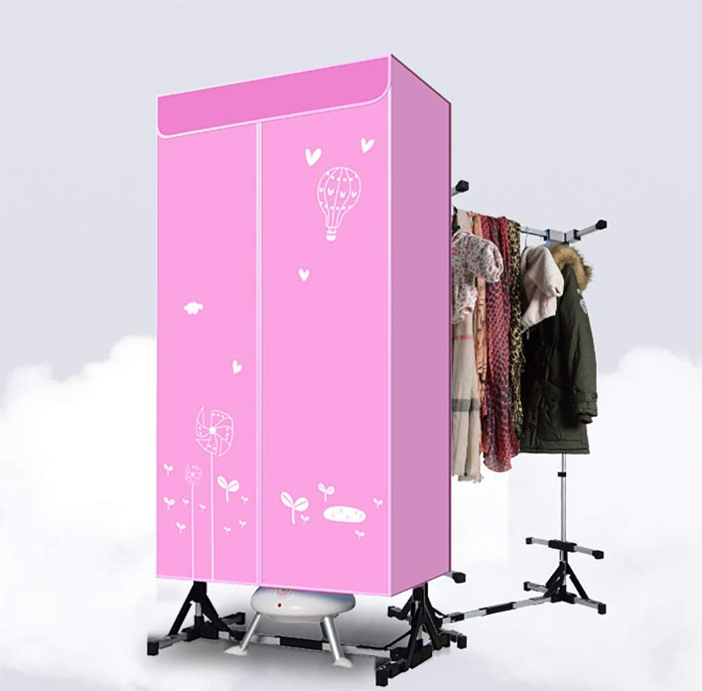 JXWWN Clothes Dryer Portable 3-Tier Foldable Clothes Drying Rack Fragrance Energy Saving (Mechanical) 1.5 Meters Clothing Dryers Digital Automatic Timer for Apartment House, Aroma Machine 900W.
