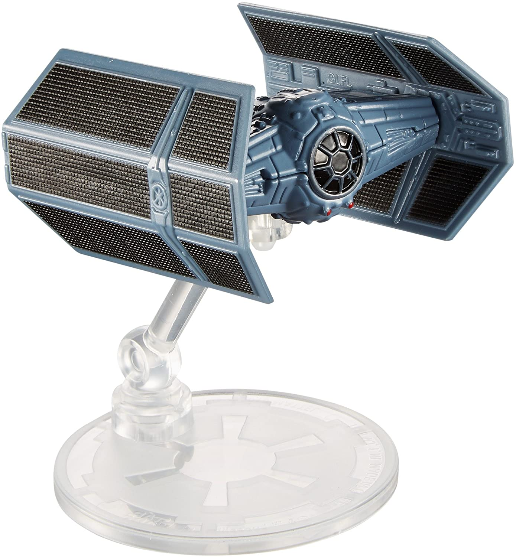 Hot Wheels Star Wars Starships 40th Anniversary Darth Vader X1 ITE Fighter Vehicle
