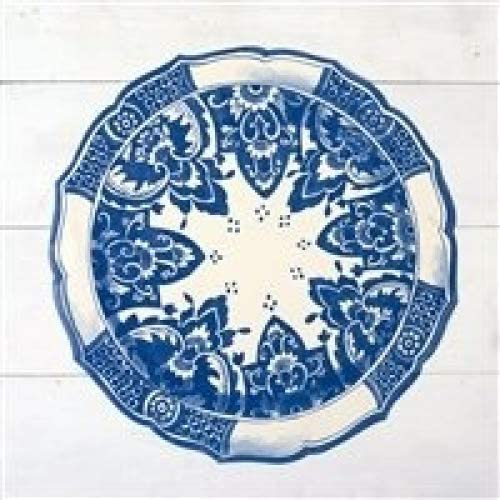 Hester and Cook Die-Cut China Blue Paper Placemat Sheets