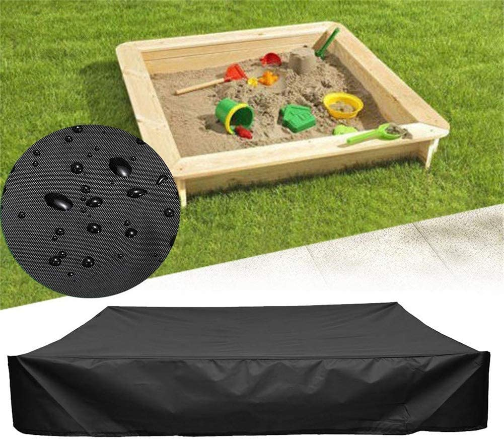 RZiioo Sandbox Covers with Drawstring, Waterproof Sandpit Cover Pool Cover, Avoid Sand and Toys Contamination, 95% UV Protection Dustproof