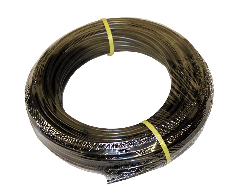 ATP IMBIBE NSF 61 Polyethylene Metric Plastic Tubing, Black, 9 mm ID x 12 mm OD, 500 feet Length