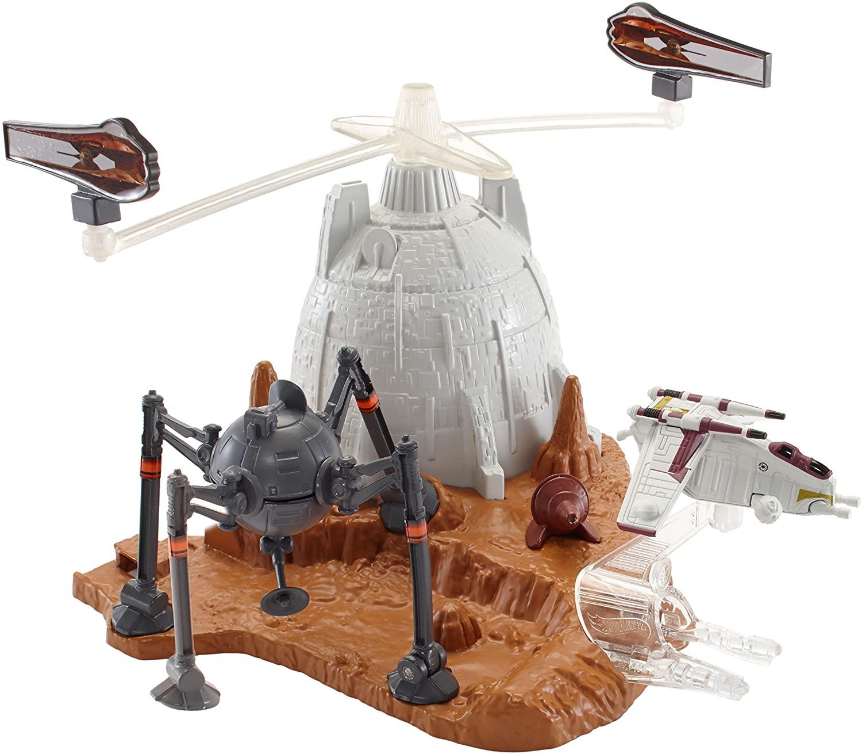 Hot Wheels Star Wars Starship Battle of Geonosis Track Set