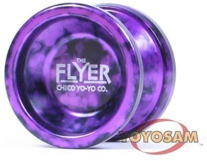Chico Yo-yo Company - Flyer Aluminum YoYo-Purple