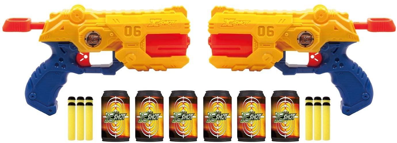 x shot reflex revolver tk-6 double pack
