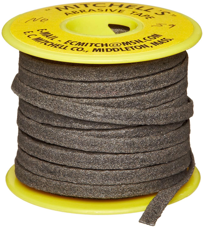 Mitchell Abrasives 59 Flat Abrasive Tape, Aluminum Oxide 150 Grit 1/4
