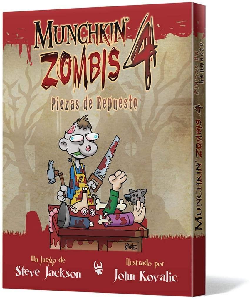 Edge Entertainment Munchkin Zombis 4: Spare Parts – Spanish Colour (EESJMZ04)