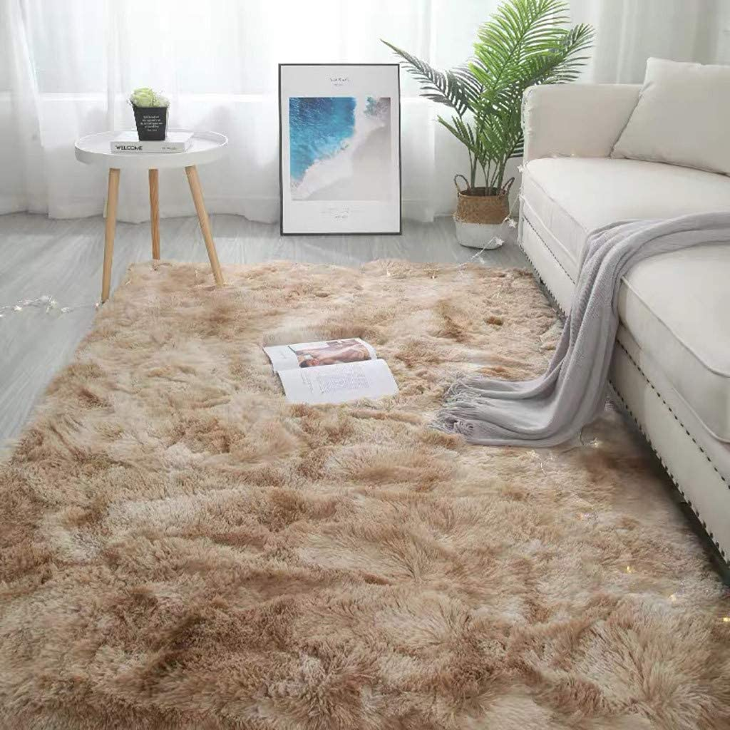 Centory Super Soft Large Shaggy Fur Area Rug for Bedroom Dorm Nursery Kids Boys Room, Modern Indoor Home Decorative Livingroom Carpet Plush Fluffy Comfy Accent Floor Rugs 120CMX100CM (100x120cm, D)