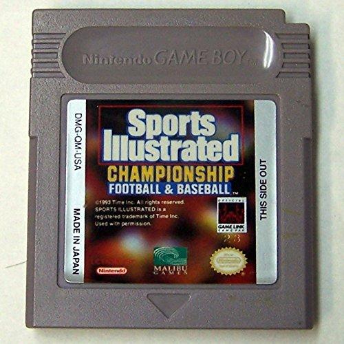 Sports Illustrated Championship Football and Baseball -  Game Boy