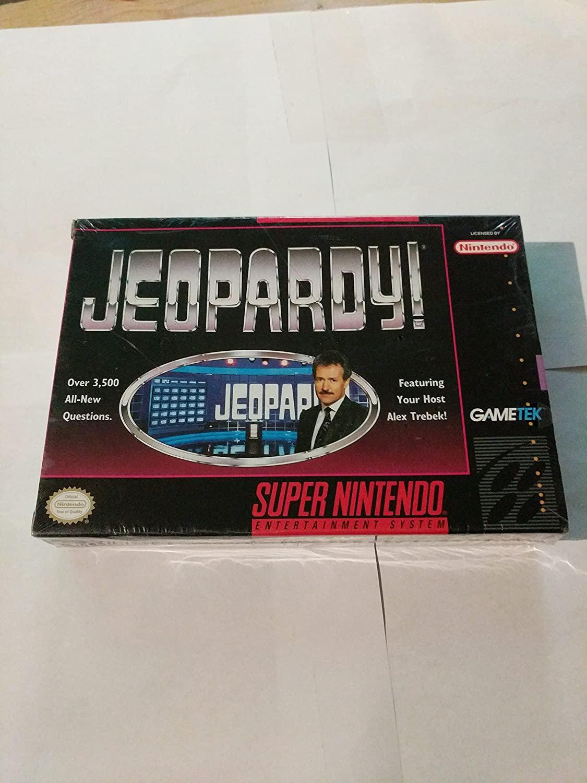 Jeopardy - Nintendo Super NES