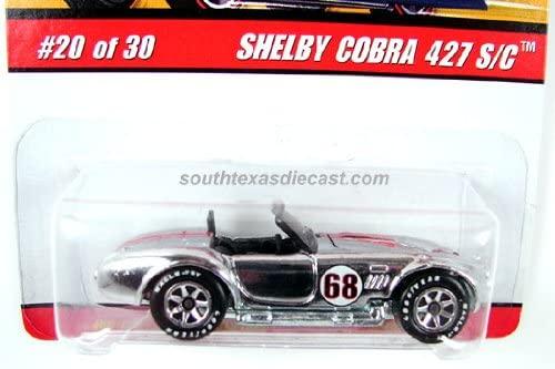 Hot Wheels Classics Series 2 Shelby Cobra 427 S/C Chrome open hood #20 1/64, 2005