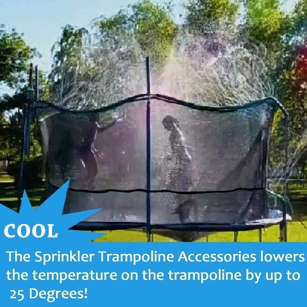 Trampoline Sprinkler-Trampoline Water Sprinkler for Kids Spray Water Park Summer Fun for Kids Outdoor Water Games Yard Sprinklers Backyard Water Park for Boys Girls 39 ft