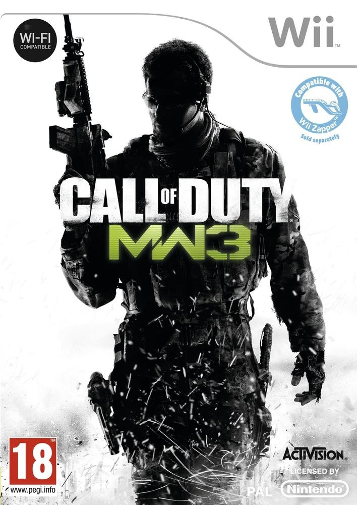Activision Blizzard - Call of Duty: Modern Warfare 3 /Wii (1 Games) (Nintendo Wii)