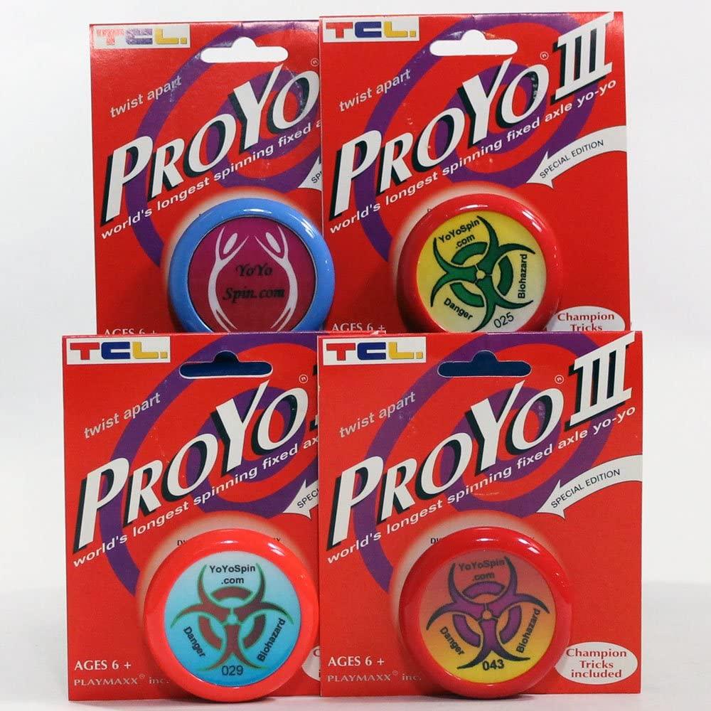 Playmaxx ProYo III Special Edition RARE YoYoSpin Invasion of the Saucer-Men Numbered Custom Yo-Yo (Orange 029)