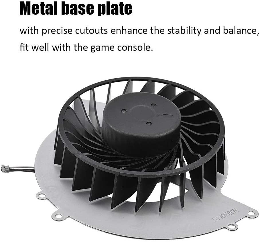 Junluck Cooling Fan, Fan, Internal Quiet Replacement Cooler, for PS4-1000,