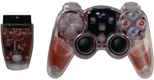 Red Ps2 Lavaglo Controllr