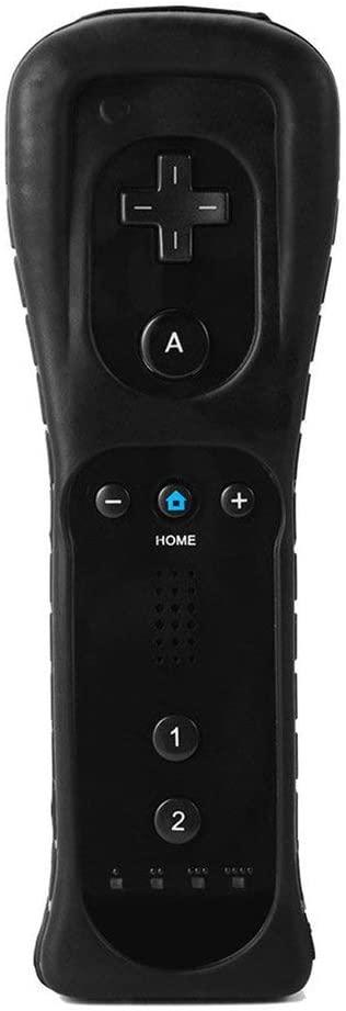 Professional Ergonimic Design Location Remote Controller for Nintend Wii Black