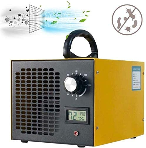 QPZM Industrial Ozone Generator Portable Disinfection Machine 10,000 Mg/h Professional O3 Air Purifier for Hotels Home Bar and Farms Pets Car 0611