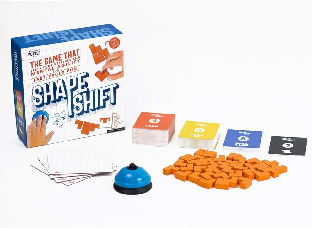 Brain Training - Shape Shift - The Fast paced, Multiplayer Mental Agility Game/Mind Game by Professor Puzzle.
