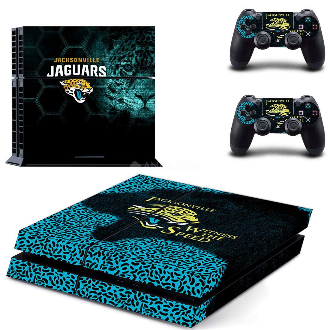 National Football League - PS4 Skin Console - PS4 Controller Skin Cover Vinyl Decal Protective by okanhyeu