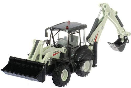 Ycco 1:50 Scale Diecast Tow Truck Wrecker Road Models Model Construction VehiclesBulldozers, excavators, forklifts, Two-Way Rope chippers, Trucks, Road Rollers ( Color : Two-Way excavators )