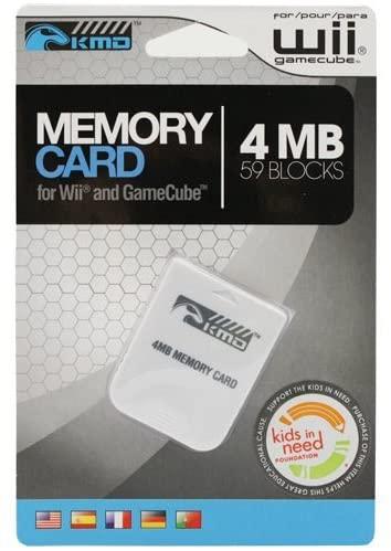 Portable, KMD Wii/Gamecube Komodo Memory Card 4MB 59 Blocks Consumer Electronic Gadget Shop