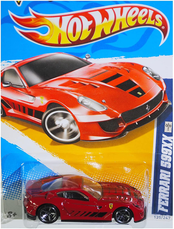 Hot Wheels 2012 HW All Stars Ferrari 599XX #125 Diecast Vehicle