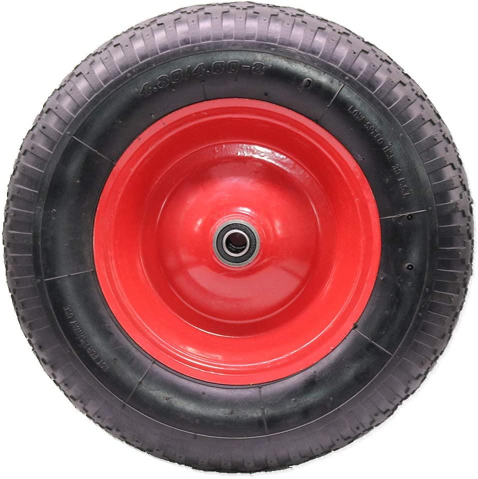 Universal Fit Pneumatic (Air-Filled) Wheelbarrow Tire 4.80/4.00-8