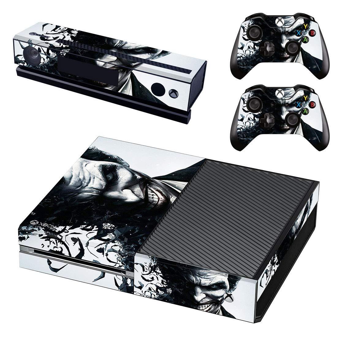 Adventure Games - XBOX ONE ORIGINAL - Joker - Playstation 4 Vinyl Console Skin Decal Sticker + 2 Controller Skins Set