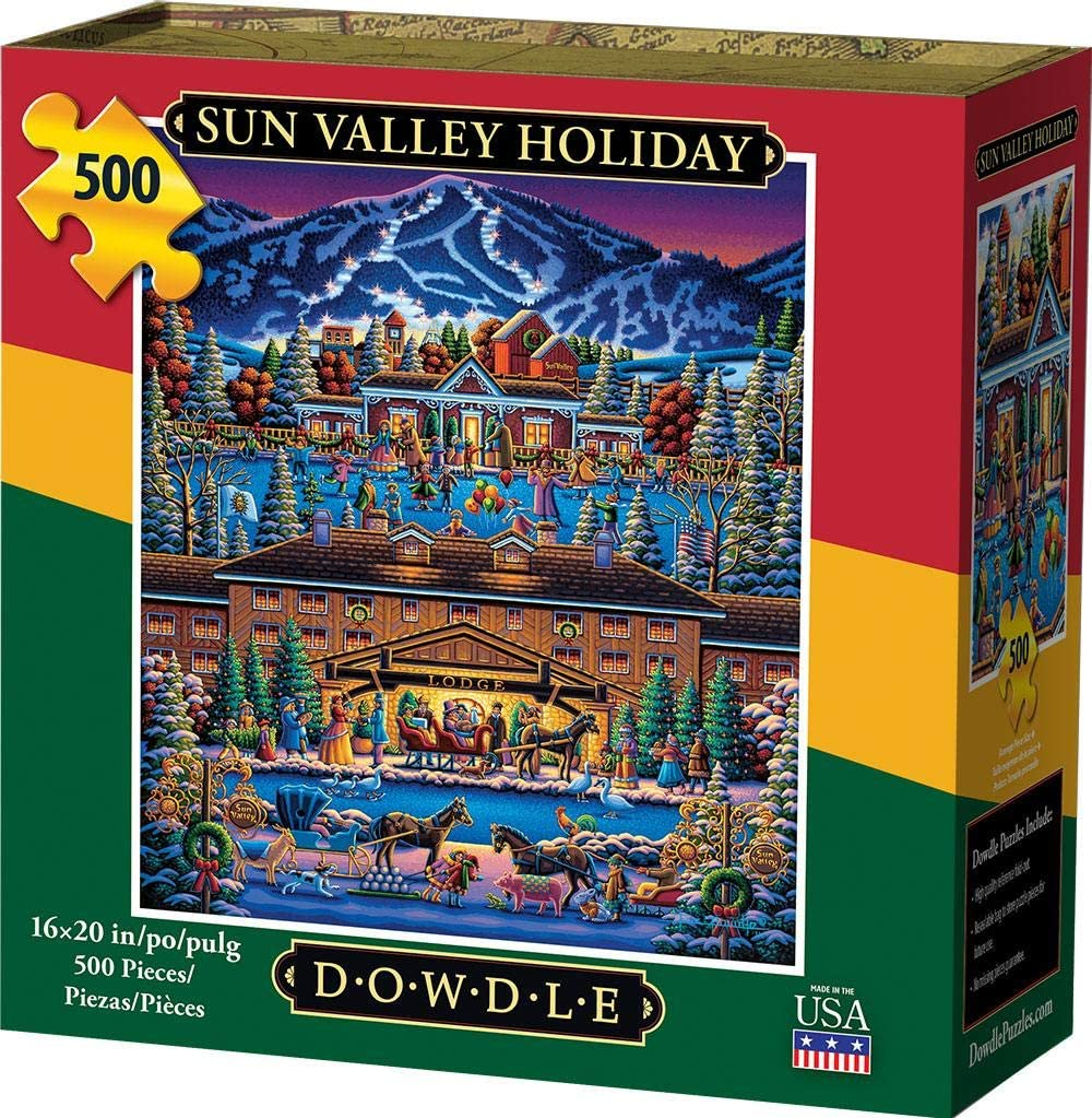 Dowdle Jigsaw Puzzle - Sun Valley Holiday - 500 Piece