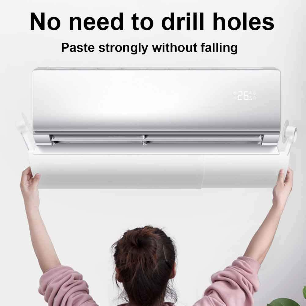 SKYHY224 Adjustable Air Conditioner Deflector,Telescopic Air Deflector,Confinement Air Deflector, Wall-Mounted Air Conditioners Deflector Air Deflector,Anti Direct Wind Direction for Home