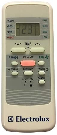 Calvas New Original AC Remote Control R51/BGE Replacement for Electrolux Air Conditioner
