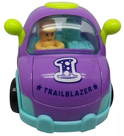 Mini Inertia Cartoon Car Model Pull Back Car for Kids