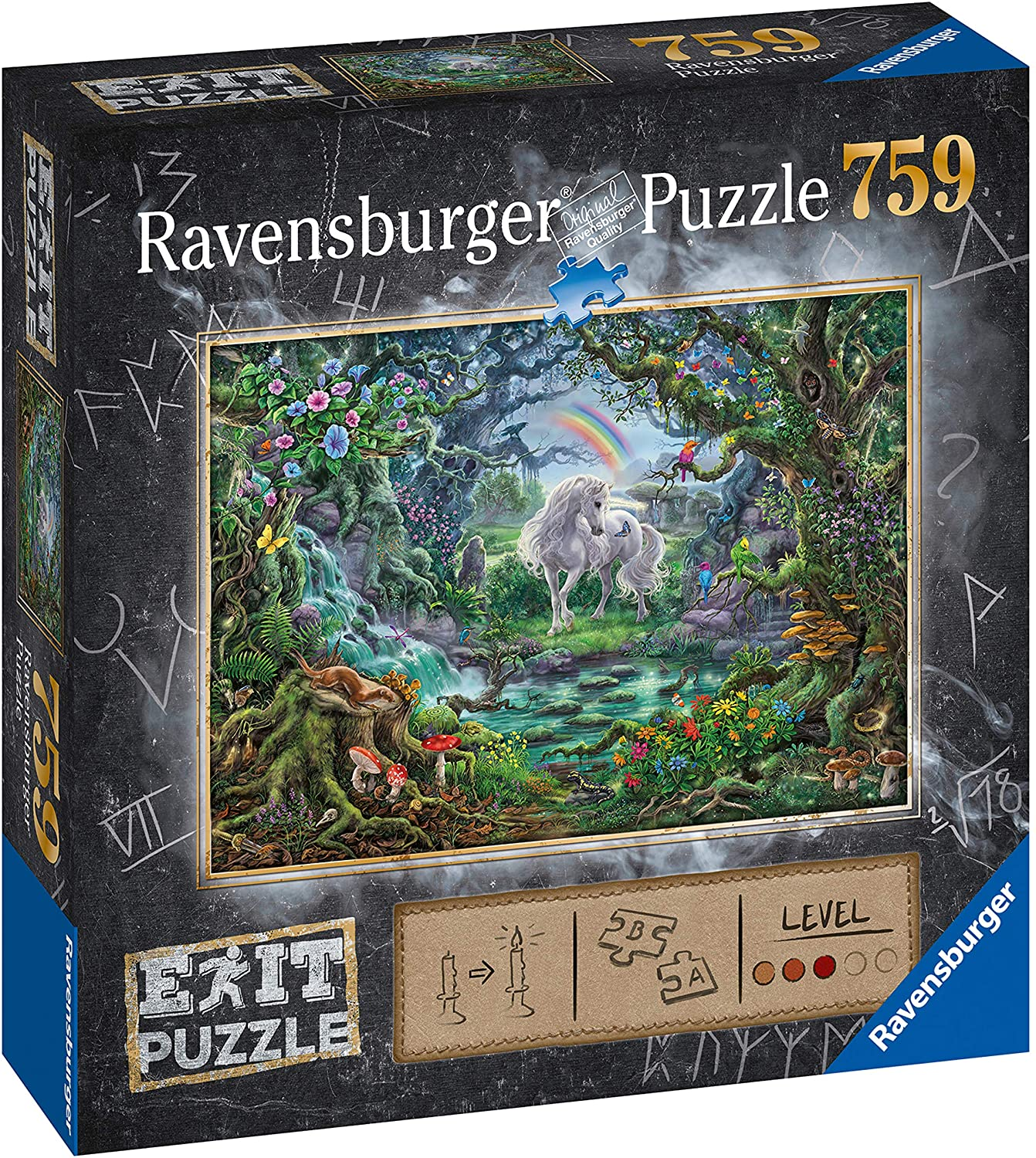 Ravensburger 15030 Escape The Room Unicorn 759 Piece Jigsaw Puzzle for Adults & for Kids Age 12 and Up