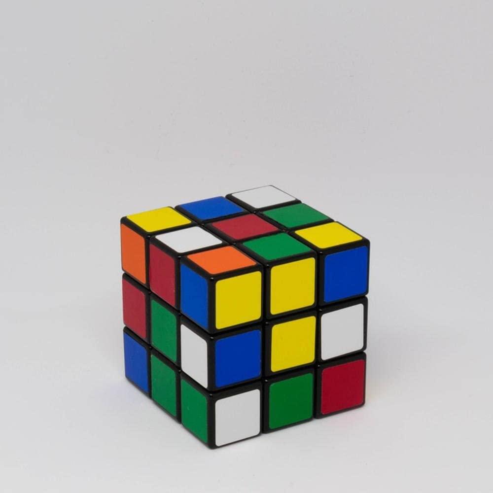 Laminated 24x24 inches Poster: Rubiks Cube Puzzle Toy Game Intelligence Square Solving Logic Rubik Cube Entertainment Rubik's Classic Mathematics Brain