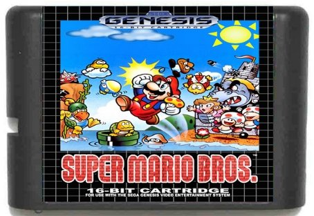 Taka Co Super Mario Bros. 16 bit SEGA MD Game Card For Sega Mega Drive For Genesis, Try It Now