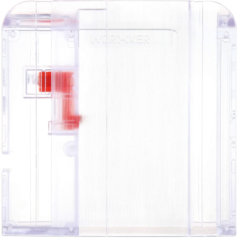 JGCWorker Narrow Clip Kit Combined with Narrow Clip Magazine for Nerf Blaster (Transparent kit)