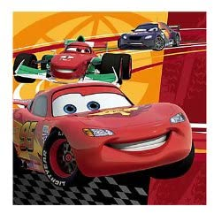 Disney Cars 2 Beverage Napkins 16ct [Toy] [Toy]