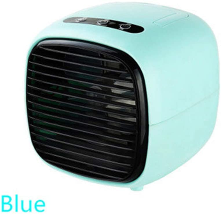 Home air Conditioner Office Water-Cooled air Conditioner air humidifier USB Mini air Conditioner air Conditioner Dormitory Home air Conditioner Portable Student air Conditioner (Blue)