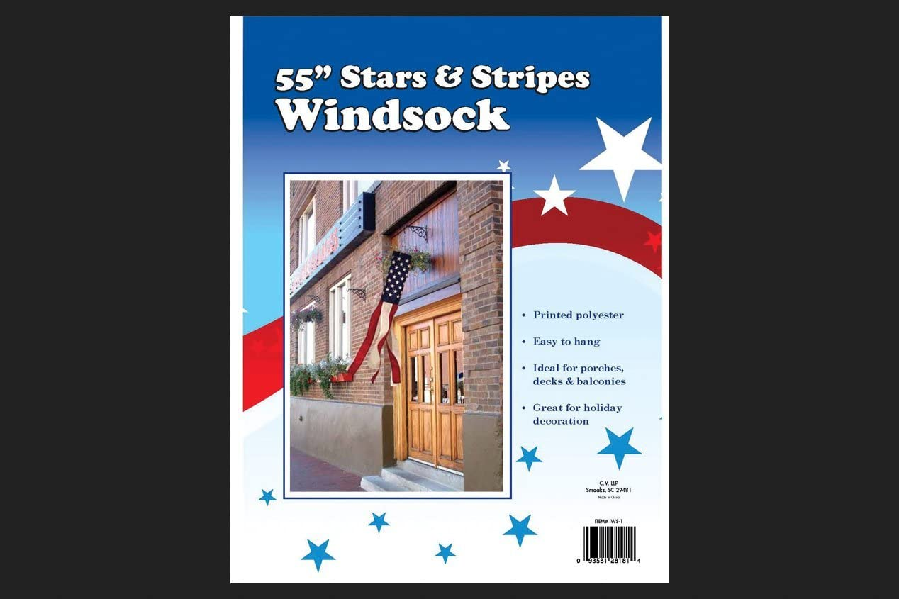 Valley Forge Stars And Stripes Windsock