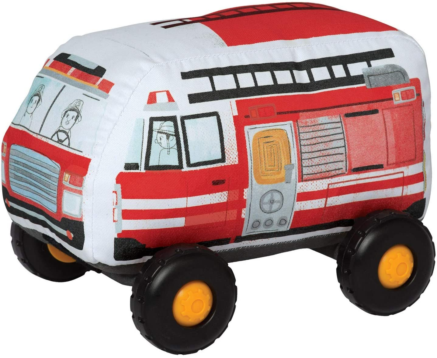 Manhattan Toy Bumpers Firetruck Toy Vehicle for Toddlers